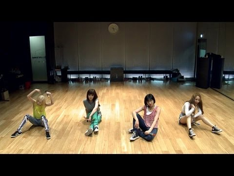2NE1 - 'FALLING IN LOVE' Dance Practice (안무연습)