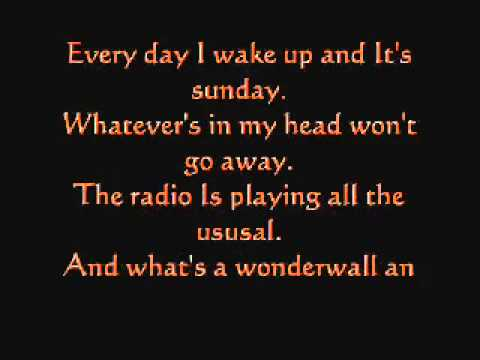 Greenday feat Wonderwall - Boulevard of broken dream/Wonderwall