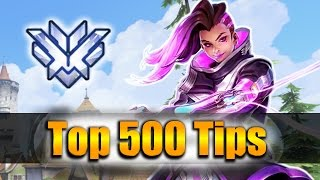 How GRANDMASTER Players DESTROY with Sombra - Overwatch Top 500 PRO Tricks |  CodyNiku Vod