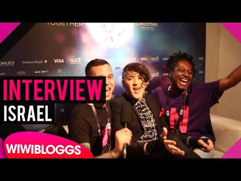 """Hovi Star Israel """"Made of Stars"""" @ Eurovision 2016 interview 