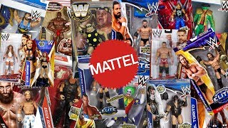 How Many Different WWE Superstars Have Mattel Made Figures Of??? Part 2