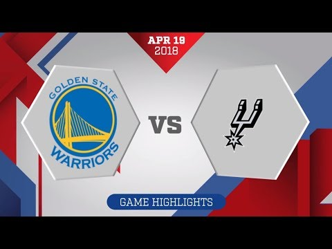 Golden State Warriors vs. San Antonio Spurs Game 3: April 19, 2018