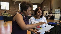 A closer look at a job fair for local affordable housing residents