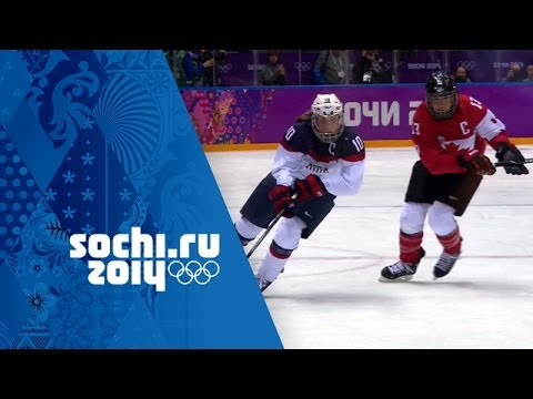 Ice Hockey - Canada 3 - 2 USA - Women's Full Gold Medal Matc