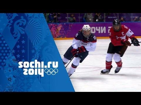 Ice Hockey - Canada 3 - 2 USA - Women's Full Gold Medal Match | Sochi 2014 Winter Olympics