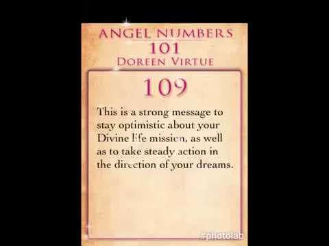Daily Angel Number 109 by Doreen Virtue
