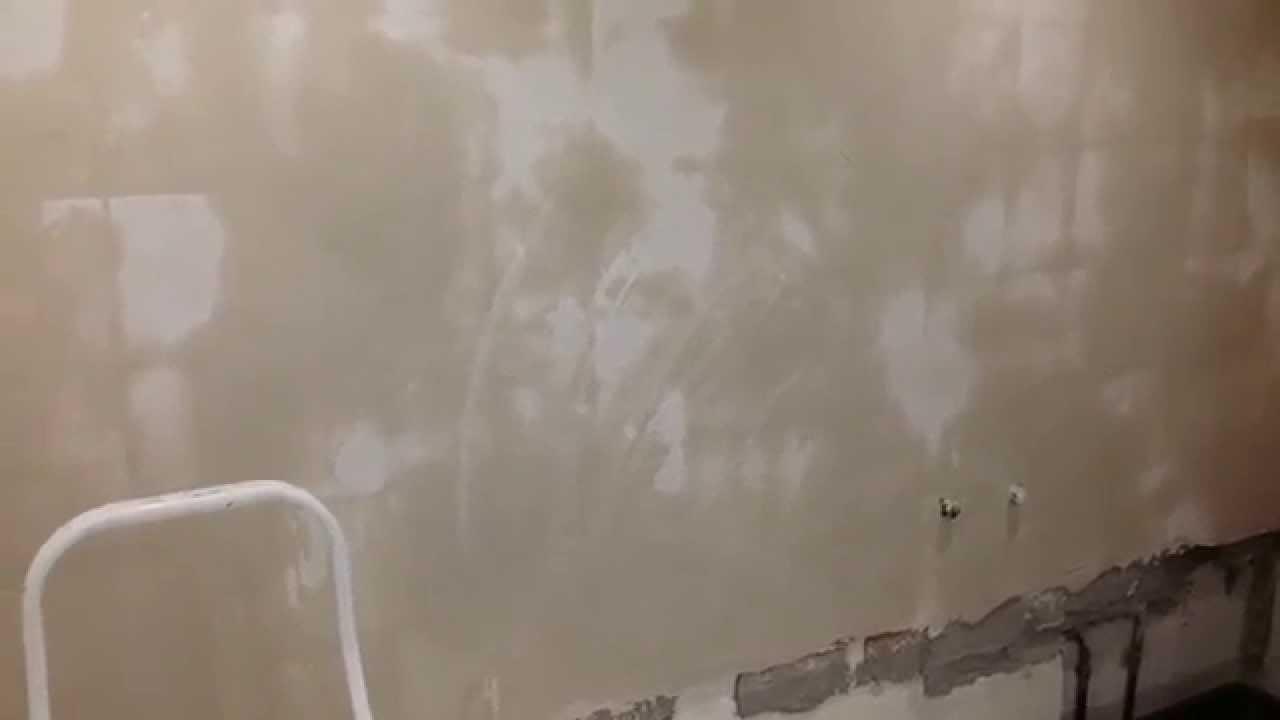 Badkamer Stuc Voorbeelden : Stucwerk op tegels youtube