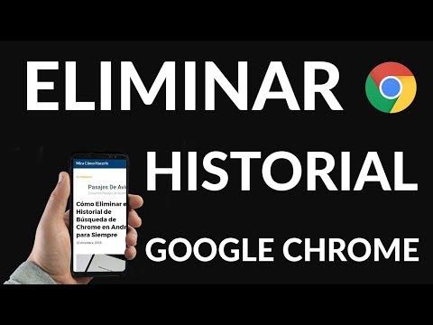 Cómo Eliminar el Historial de Búsqueda de Chrome en Android para Siempre