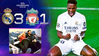 REAL MADRID 3-1 LIVERPOOL **MADRIDISTAS REACCIONANDO**