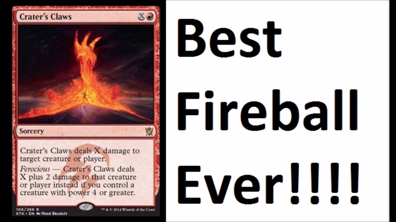 Crater 39 s claw best card ever khans of tarkir spoilers for Best holiday cards ever