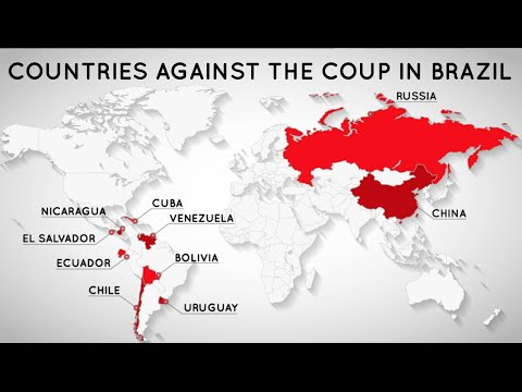 Countries Against the Coup in Brazil
