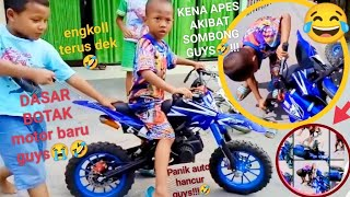 MINI/TRAIL Motorcross 49 CC..  Warna Biru Seharga 3.000.000
