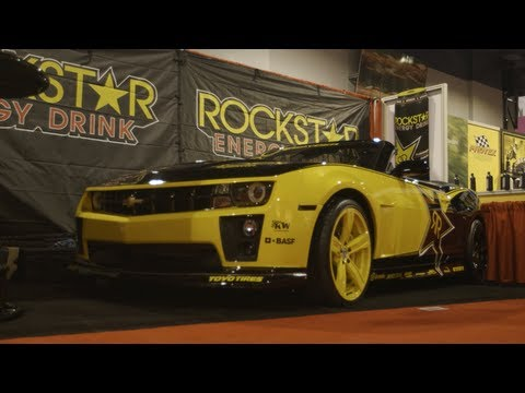 Rockstar Garage at SEMA Show