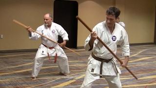 Yamani-Ryu training at the 2017 Gathering