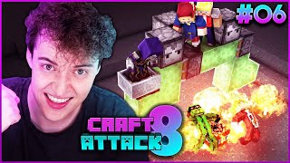 FLIEGENDER TNT BOMBER SPRENGT ALLES | CRAFT ATTACK 8 #06