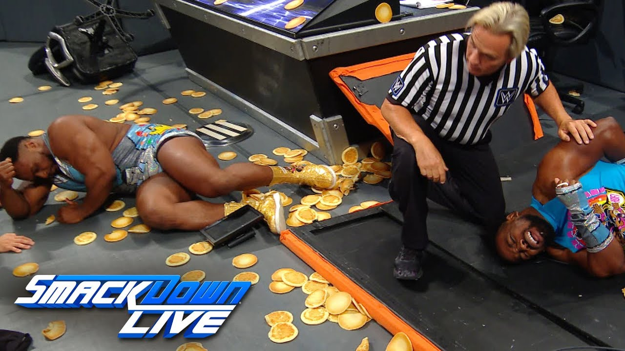 The New Day and Bryan & Rowan are ejected from ringside: SmackDown Exclusive, July 2, 2019