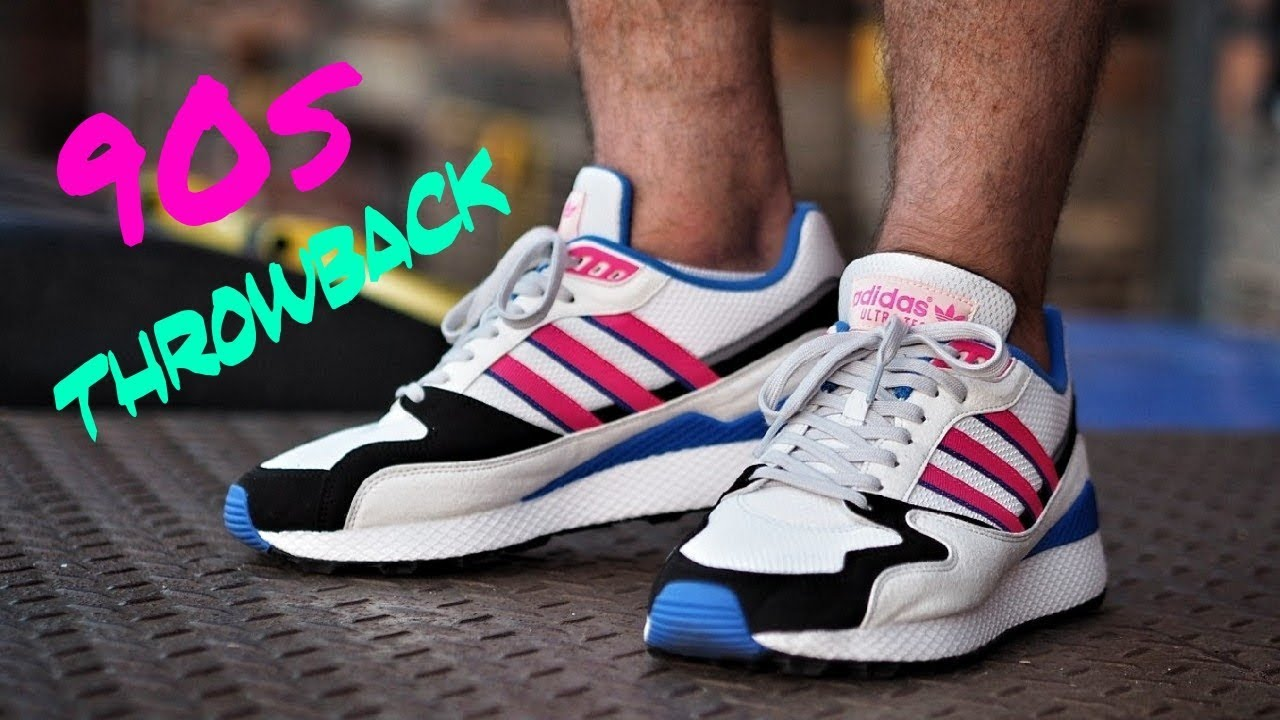 a80fb80d3 Adidas 90s Sneaker Heat Throwback  Ultra Tech OG Review - YouTube