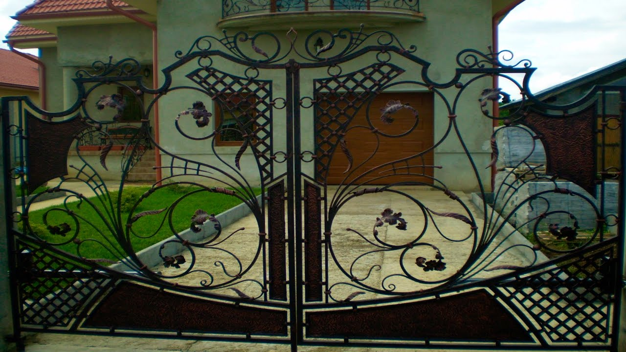 Iron Gates Designs for House | Forged Gates - YouTube on Iron Get Design  id=90914