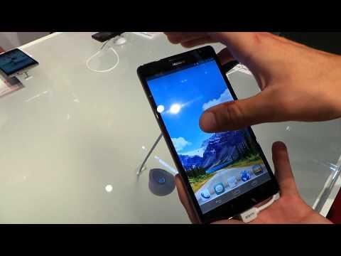 Huawei Ascend Mate bemutató videó @ Veletech 2013 | Tech2.hu