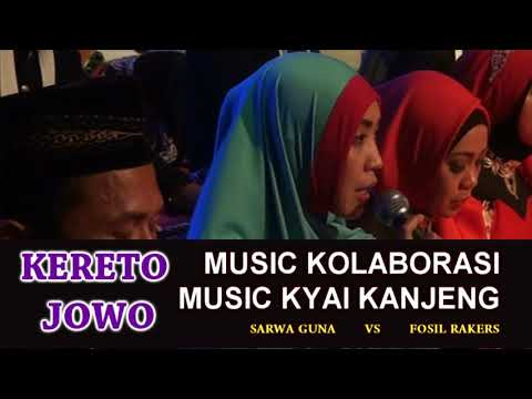 WOW...!!KERETO JOWO / Music Religi Kyai Kanjeng Paguyuban Sarwa Guna Dan Fosil Rakers Di Candi Wulan