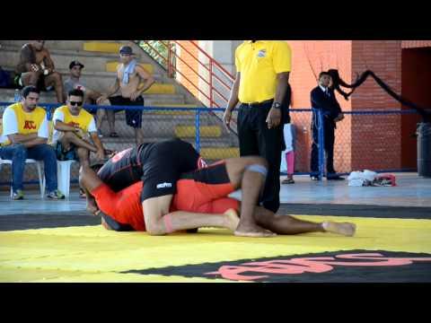 """Seletiva do ADCC Rio: Roberto """"Tussa"""" Alencar x  Marcus Vinicius (CBT) até 99kg"""