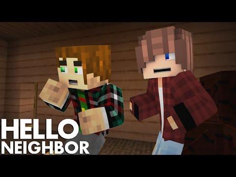 Minecraft Hello Neighbor - New house, New Secrets (Minecraft Roleplay)