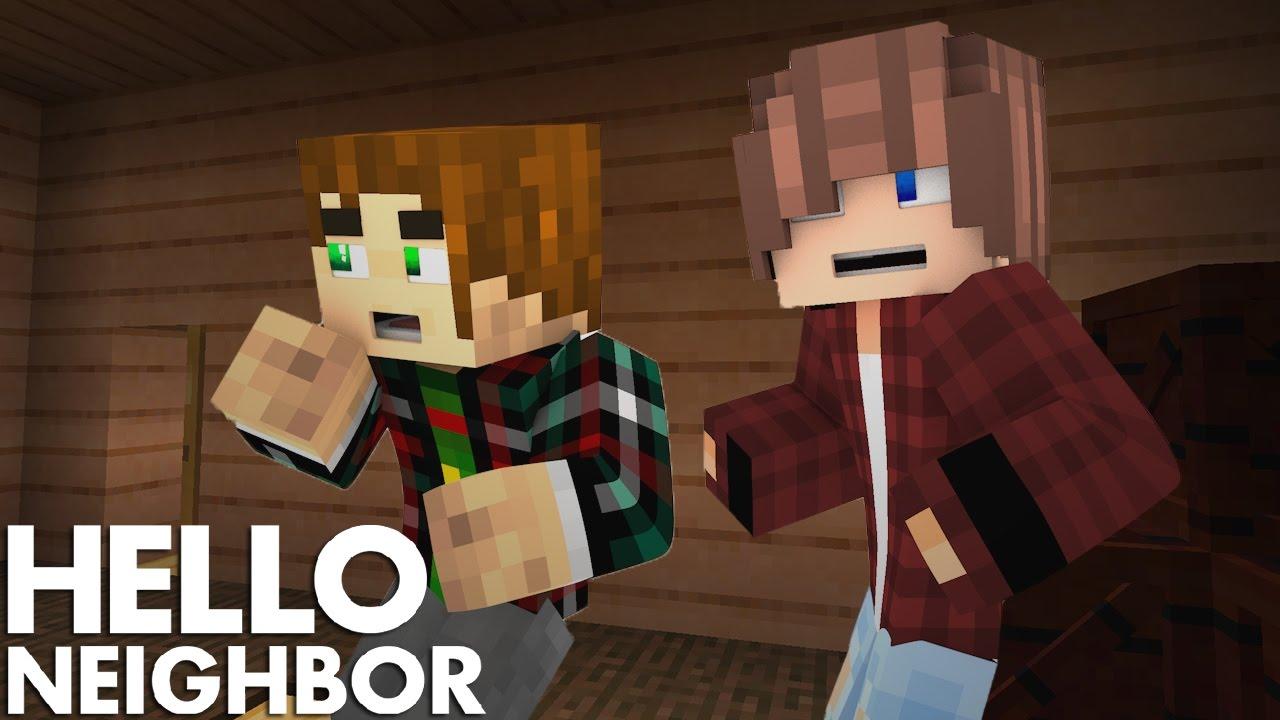 Minecraft Hello Neighbor - New house, New Secrets ...