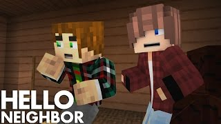 Minecraft Hello Neighbor - New house, New Secrets (Minecraft Roleplay)