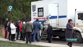 «Поезд здоровья» привёз в Федосеевку восемь врачей узких специальностей