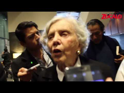 Elena Poniatowska opina sobre el gabinete de AMLO
