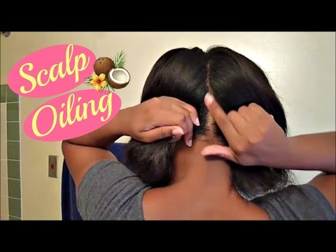 My Scalp Oiling Routine For Dry Flaky Scalp Using Coconut Oil
