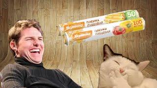 Как прикольно разыграть кота)))