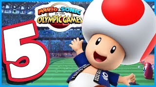 Mario & Sonic at the Olympic Games Tokyo 2020 - Story Mode Walkthrough Part 5
