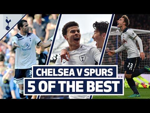 5 OF THE BEST | SPURS BEST GOALS AT STAMFORD BRIDGE | ft. Kane, Dele, Sandro & Eriksen!