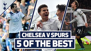 5 OF THE BEST | SPURS BEST GOALS AT STAMFORD BRIDGE | ft. Kane, Dele, Sandro & Eriksen!