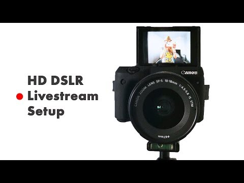 How To Live Stream With A DSLR Camera (HD Livestream Setup Tutorial) OBS & BeLive.TV