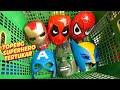 Parodi Superhero Salah Topeng 😀 Superheroes Wrong Masks
