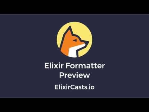 Elixir Formatter Preview