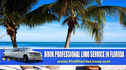 Best Florida Limo Service | www.FindFloridaLimos.com | Professional Limousine Rental in FL