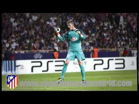 Despedida de De Gea del Atlético de Madrid