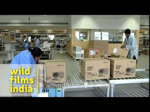 Manufacture of Hewlett Packard computers in Bangalore, India