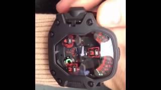 видео наручные часы