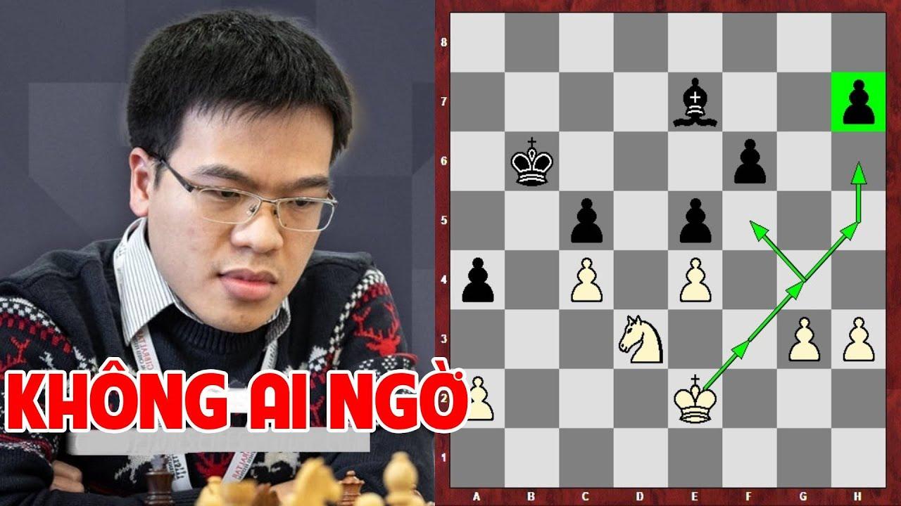 Cậu bé 12 tuổi đánh bại siêu đại kiện tướng cờ vua Lê Quang Liêm