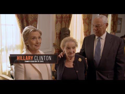 "Madam Secretary ""Hillary Clinton, Madeleine Albright & General Colin Powell Guest"" Featurette"