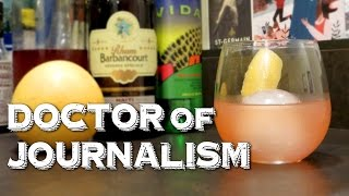 Doctor Of Journalism - An Original Gonzo Cocktail Inspired By Hunter S. Thompson