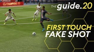First Touch Fake Shot - A POWERFUL Skill Move to Create Goal Scoring Chances in 1vs1 Situations
