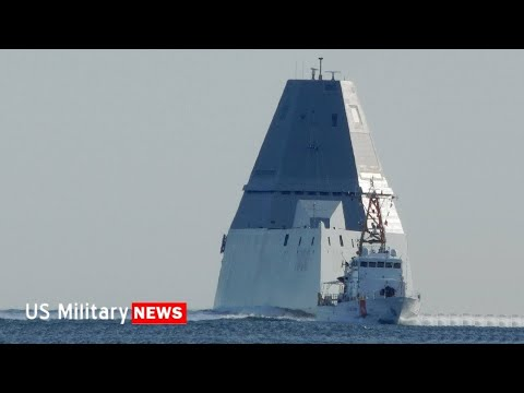 Here's How The Zumwalt's Stealthy Design Handles Stormy Seas