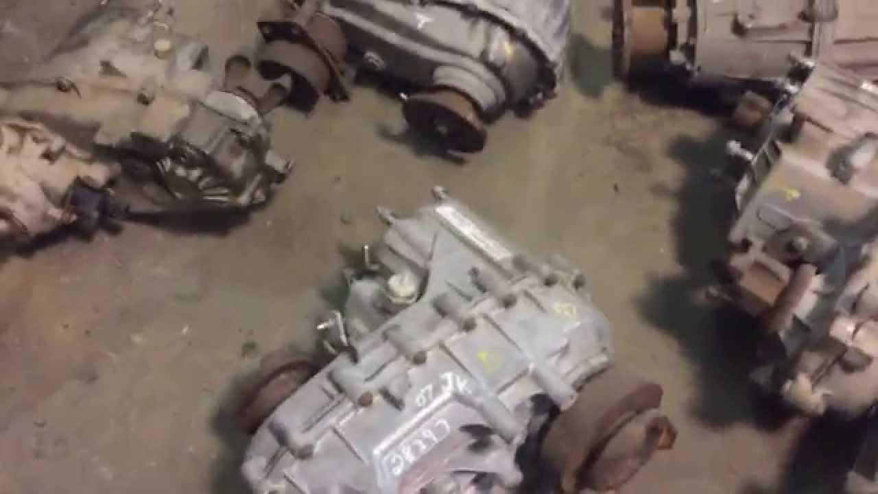 Jeep Jk For Sale >> 07-14 JEEP WRANGLER JK OEM 241 TRANSFER CASE T-CASE - YouTube