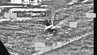 RAF Tornado strike against an ISIL vehicle