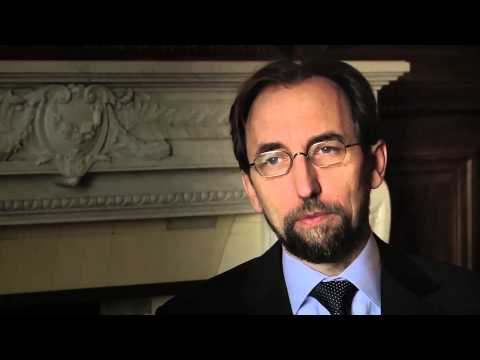 Reflections of Courage: UN High Commissioner for Human Rights - #reflect2protect